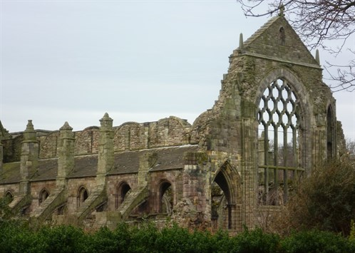 Ruins _of _Holyrood _Abbey ,_Edinburgh